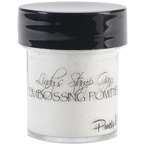 Neww Lindy's Stamp Gang 2-Tone Embossing Powder .5oz Jars-Purely White Neww