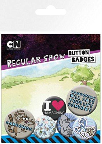 4 Sticker 25mm 32mm 1art1® amp; Regular Set 1x X Hamboning Cm Surprise Badges De 15x10 Show Paquet 2 wwaIgq