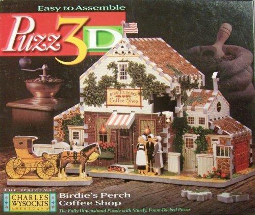 輝い Puzz 3D Birdie's Perch Coffee Puzz Shop Coffee Jigsaw puzz Puzzle 221 Pieces by puzz 3d B005G8U3VM, Region Free:af936244 --- quiltersinfo.yarnslave.com