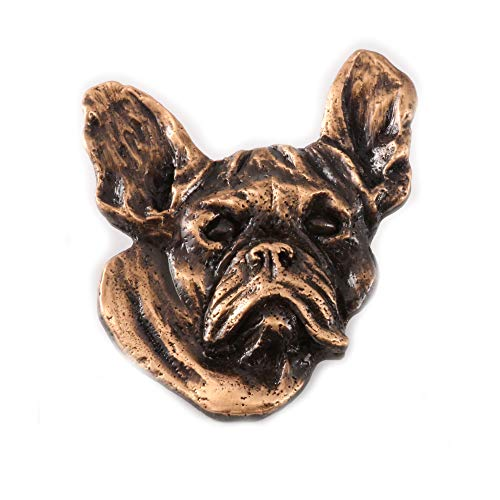 gns French Bulldog Premium Copper Plating Pin, DC082PR ()