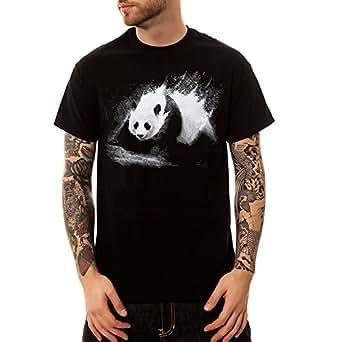 Camisetas Hombre Super Premium Manga Corta Negro-2XL
