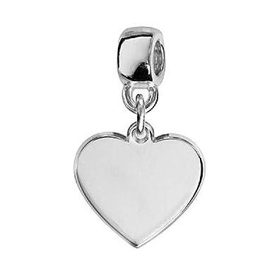 3875f99a5589f Amazon.com: So Chic Jewels - Sterling Silver Charm Tassel Heart ...