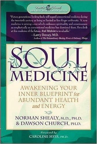 Soul medicine awakening your inner blueprint for abundant health soul medicine awakening your inner blueprint for abundant health and energy dawson church 9781604150100 amazon books malvernweather Choice Image