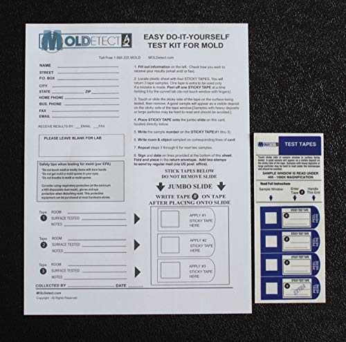 MOLDetect Three Sample Mold Test Kit W/ Accredited Analysis and Consulting by MOLDetect (Image #3)