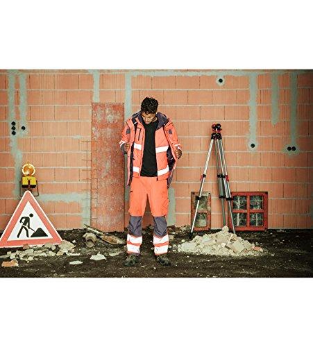 Kleidung Warnschutz Winter Bundhose Neon En 20471 2 Gelb Anthrazit