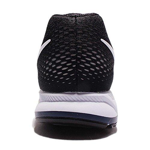 Nike Mens Air Zoom Pegasus 33 Leale Blu / Bianco-nero
