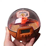 Lexvss Mini Basketball Games, Mini Basketball Alarm Clock, New Fingertips Basketball Decompression Handheld Shooting Games With The Scoreboard