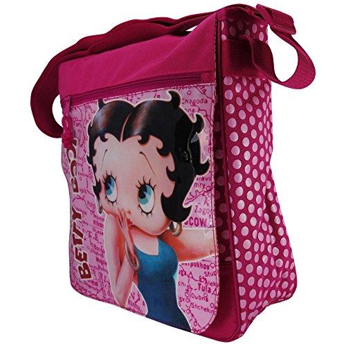 Borsa Shopper Tracolla A Spalla Betty Boop Donna FK1JuTc3l