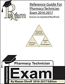 2016 2017 edition reference study guide for for the pharmacy rh amazon com Pharmacy Technician Exam Preparation Pharmacy Technician Cartoon