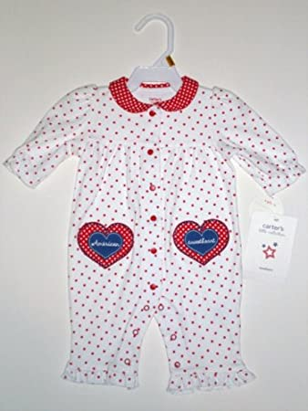 2e793f351 Amazon.com   Carter s Newborn Girls Sleep   Play Set Pajamas ...