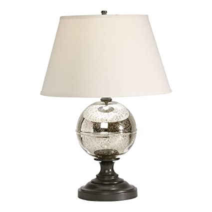 Charmant Ethan Allen Glass Orb Table Lamp