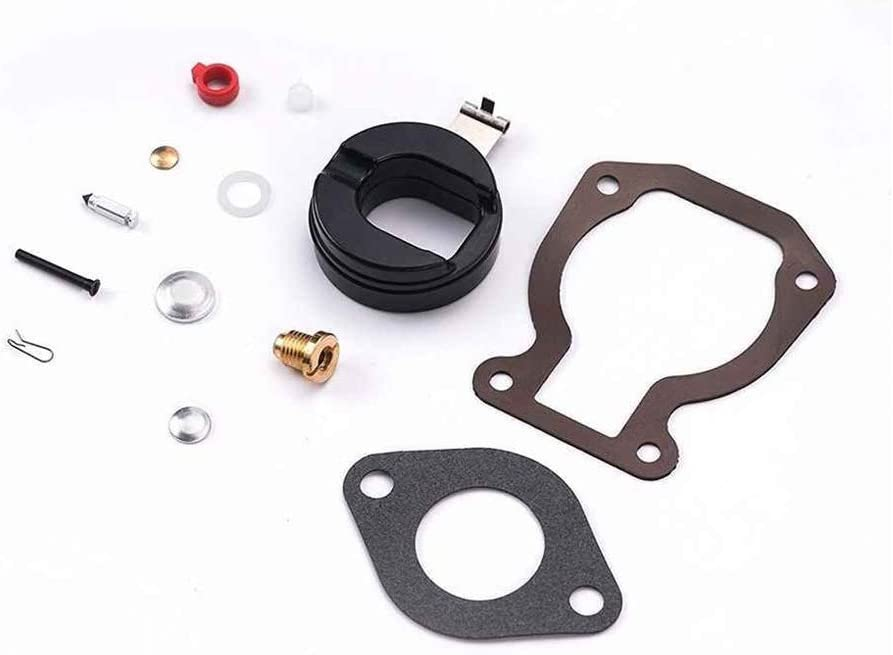for 15 1974-1988 Carburetor Repair Kit,398453 Carburetor Repair Kit Replacement Part Boat Rebuild for Johnson Evinrude for 4 4.5 6 7.5 8 9.9 15 Carburetor kit carb