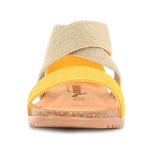 BioNatura - 34A825GIALLO - 120182112 - Color: Amarillo - Size: 36.0
