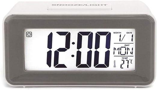 EDCV Despertador electrónico Despertadores Digitales Relojes para ...