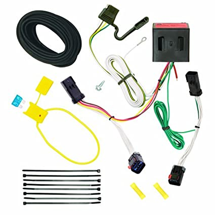 amazon com reese plug and play hitch wiring trailer lights for 2002 rh amazon com jeep liberty trailer wiring instructions 2002 jeep liberty trailer wiring