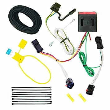 517tGwSymOL._SY355_ amazon com reese plug and play hitch wiring trailer lights for Trailer Wiring Harness at gsmportal.co