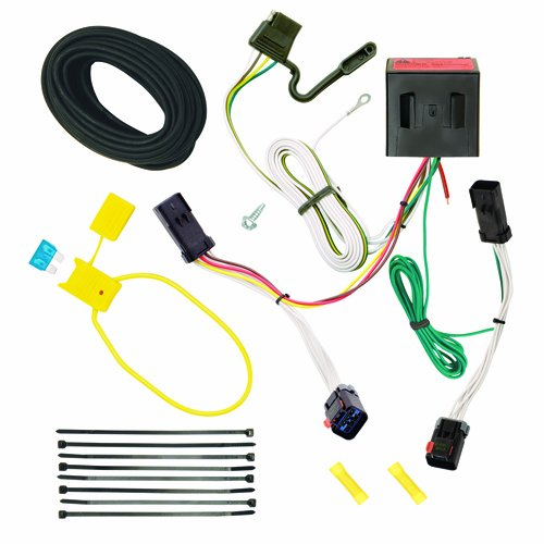 Liberty Trailer Wiring Jeep - Reese Plug and Play Hitch Wiring Trailer Lights for 2002-2007 Jeep Liberty