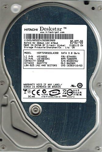 BA2983 320GB Hitachi HDP725032GLA380 P//N 0A37772 MLC