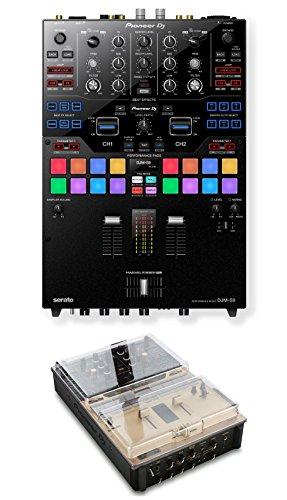 Pioneer DJM-S9 Mixer + Decksaver DS-PC-DJMS9 Cover Bundle