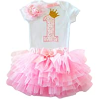 1 Year Baby Girl Dress Unicorn Party Girls Tutu Dress Toddler Kids Clothes Baby 1st Birthday Outfits