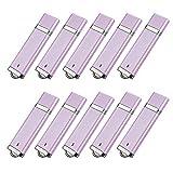 TOPSELL 10PCS 8GB USB 2.0 Flash Drive -Bulk Pack- Memory Stick Thumb Drive (8G, 10Pack, Purple)