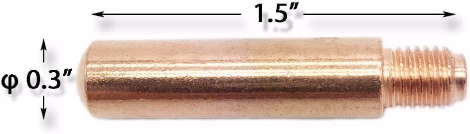 14-35 5 pack TWECO #2,3,4 Style MIG Contact Tips LONG LIFE 0.9 mm