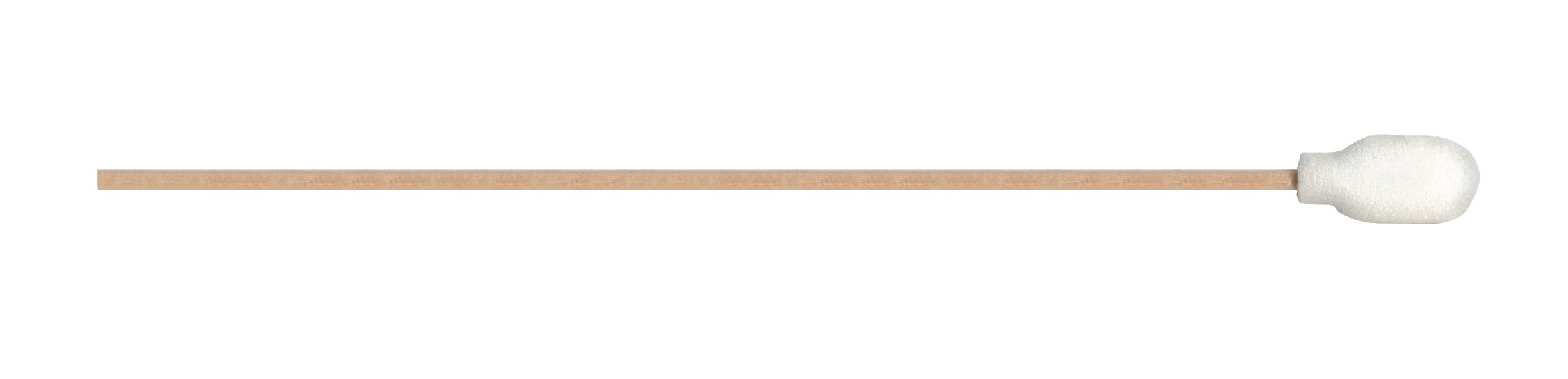 MG Chemicals Urethane Foam Over Cotton Precision Cleaning Swab, 100 PPI Porosity, 6'' Length