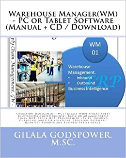 Buy Warehouse Manager PC or Tablet Software: Operation Management