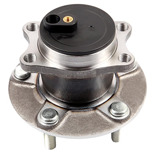 cciyu 512394 Wheel Hub and Bearing Assembly Replacement for fit Mitsubishi Lancer 2008-2015 has ABS Wheel Hubs 5 Lugs (1)