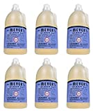 Mrs. Meyer's Clean Day 64 Load Laundry Detergent, Bluebell, 64 fl oz (6)