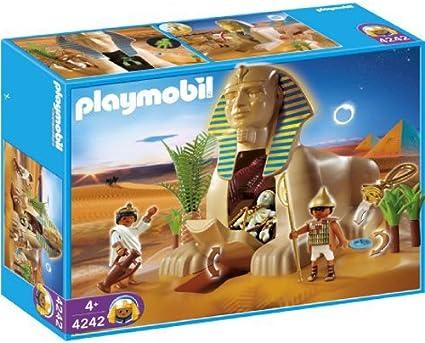 Amazon.com: Playmobil 4242 romanos Egipcios Juego Esfinge ...