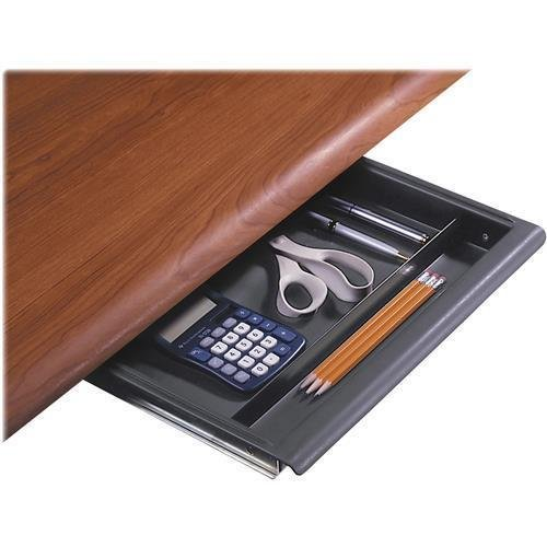 Iceberg Aspira Workstation Utility Drawer, Charcoal, 14w x 14-1/2d x 1-1/2h (ICE95452) (95452)