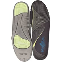 Nautilus Safety Footwear Women's Memory Foam and Gel Impact Insoles Health Care and Food Service Shoe