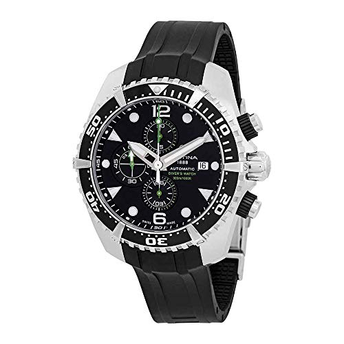 - Certina DS Action Diver Chronograph Automatic Black Dial Mens Watch C032.427.17.051.00
