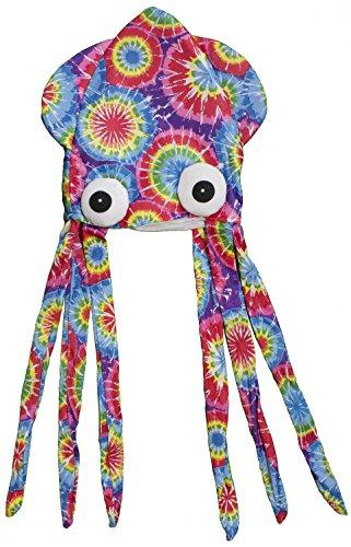 Costume Accessory - Felt Tye Dye Squid Hat ()