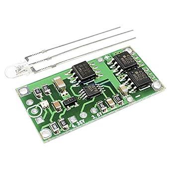 Amazon.com: Módulo de carga de batería de litio 18650 PCB de ...