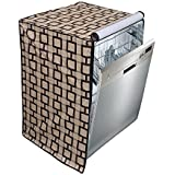 Stylista Dishwasher cover for LG D1451WF 14 Place Settings Printed