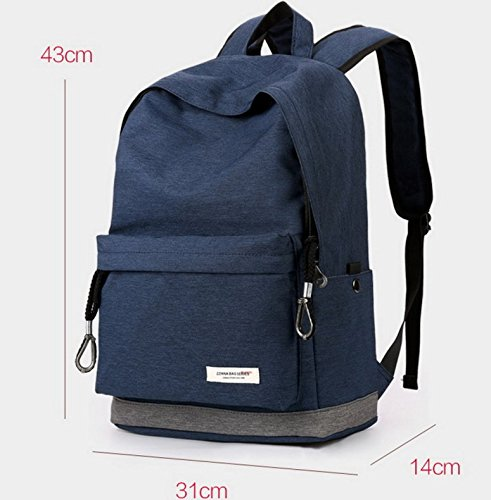 Otomoll Sport Leisure Travel Bag Student Tasche Rucksack Koreanischer Mode Upgraded blue rVOdkCbfF