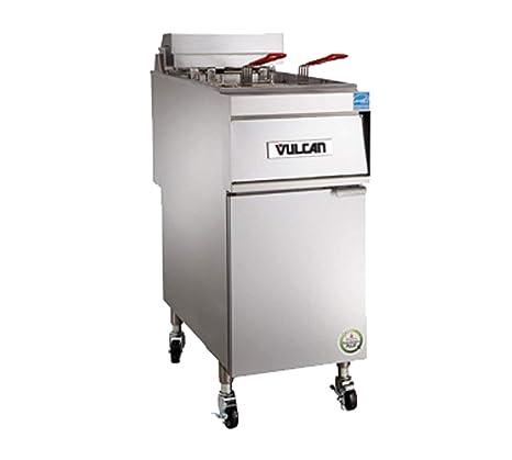 "Vulcan 1er50d freidora eléctrica 15,5 ""W 50 libras Capacidad ..."