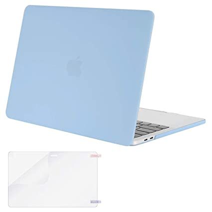 innovative design eef08 a5edf MOSISO MacBook Pro 15 Case 2019 2018 2017 2016 Release A1990 A1707 with  Touch Bar & Touch ID, Plastic Hard Shell Cover & Screen Protector  Compatible ...