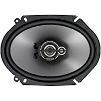 Clarion SRG6833C 300-Watt 6 x 8 Inches Good Series Custom Fit Multiaxial 3-Way Car Speakers, Set of 2