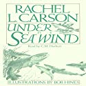 Under the Sea Wind Audiobook by Rachel L. Carson Narrated by C. M. Hébert