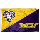WCU Golden Rams College Flag
