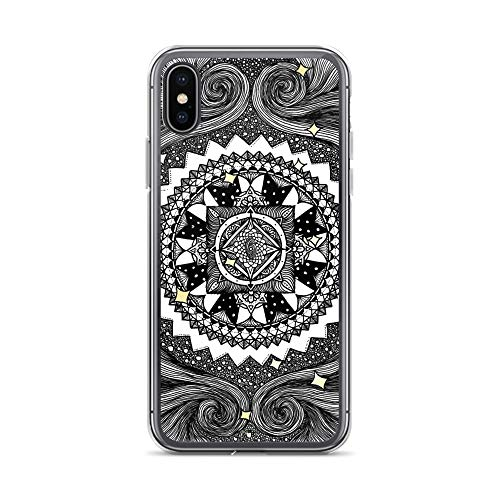 iPhone X/XS Case Anti-Scratch Motion Picture Transparent Cases Cover Virgo Movies Video Film Crystal -