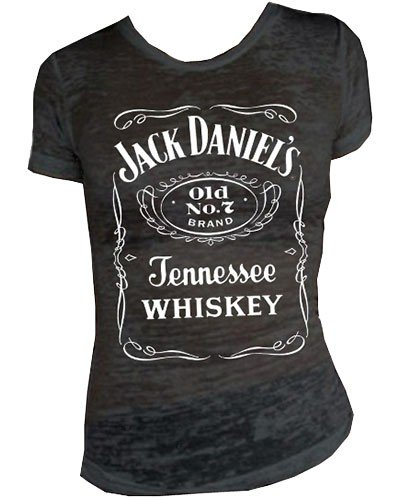 Used, Jack Daniels Women's Daniel's Burnout Short Sleeve for sale  Delivered anywhere in USA