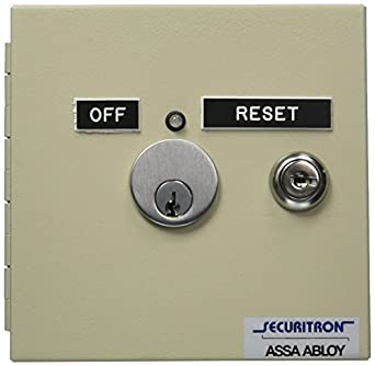 Amazon.com: Securitron far-12 Alarma contra incendios Reset ...