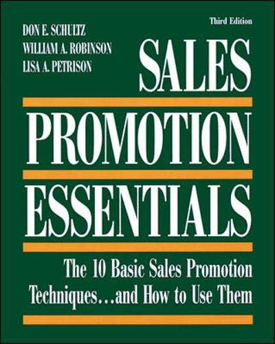 Sales Promotion Essentials : The 10 Basic Sales Promotion...