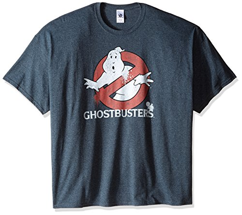 Men's Ghostbusters Big-Tall Classic Logo T-Shirt