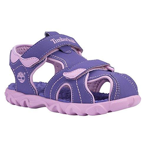 Timberland 7872R Youth's Splashtown Closed Toe Sandal Purple/Lilac 3 M US