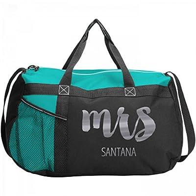 Mrs. Santana Bride Gift  Gemline Sequel Sport Duffel Bag chic ... baf19467b5007